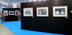Expo des photos de la famille Traverso.