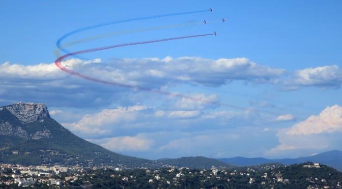 La Patrouille de France à Toulon