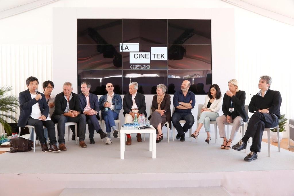Une parties des cinéastes sollicités lors de la présentation de La Cinetek au dernier Festival de Cannes.