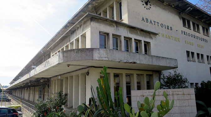 Anciens abattoirs de Nice : lieu de création