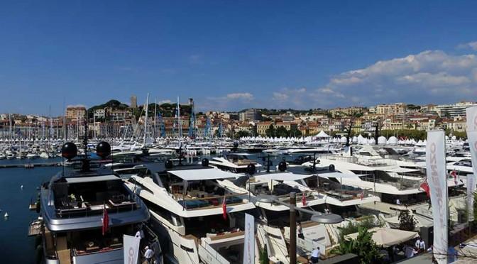 Cannes Yachting Festival : bateaux sur l'eau !