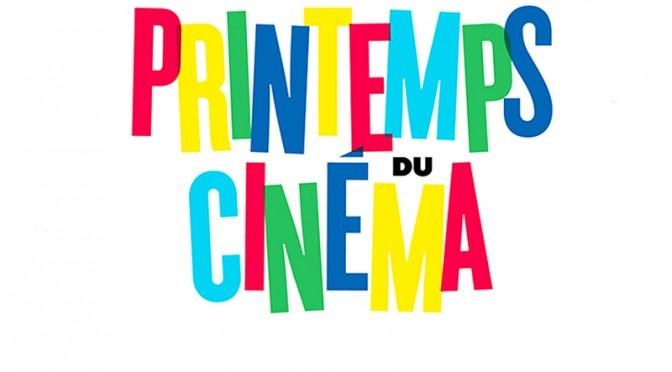 Le Printemps du cinéma 2017 du 19 au 21 mars